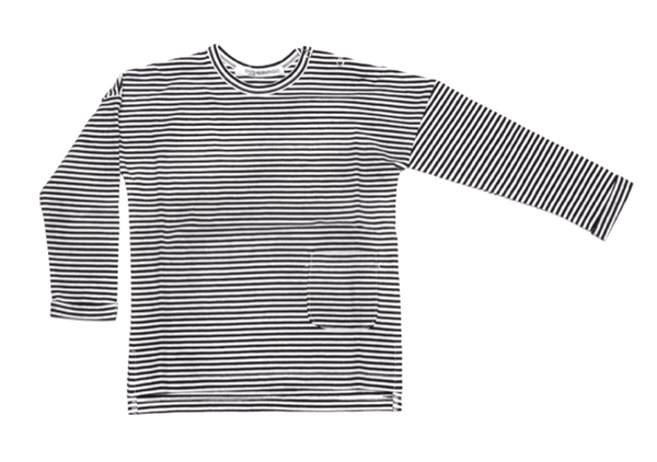 Mingo, baby Stripe Longsleeve T-Shirt-LAST SIZE! 0-6m - when we wear young