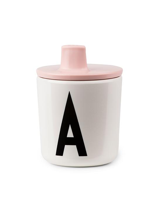 Design Letters, baby Personalized Drinking Cup (A-Z) - when we wear young