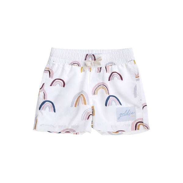 goldie + ace, baby Rainbow Board Shorts - when we wear young