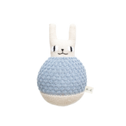 Main Sauvage, baby Roly Poly Blue Rabbit - 1 left! - when we wear young