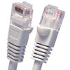 1Ft Cat5E UTP Ethernet Network Booted Cable Gray