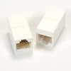 Cat.6 RJ45 Inline Coupler White