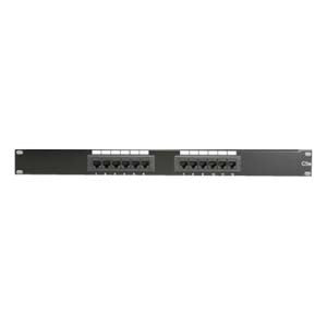 Cat.5e 110 Type Patch Panel 12Port Rackmount