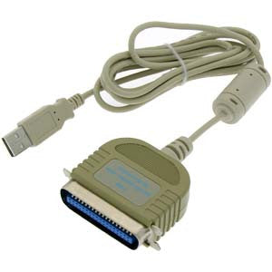 USB Parallel Printer Adapter (Cent.36-M)