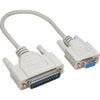 6Ft DB9-F/DB25-M Serial Cable