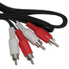 12Ft RCA M/M x 2 Audio Cable