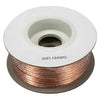 100Ft 12AWG/2 Polarized Speaker Wire Spool CCA Clear Jacket