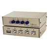 4Way USB Manual Switch Box Ax1/Bx4