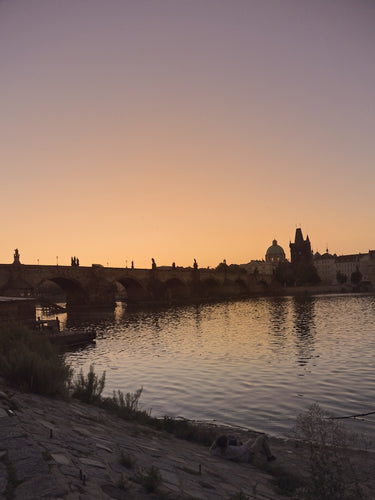 First Light at Charles Bridge, Prague Czech Republic - Travel wall art prints by Edwin Datoc Gallery