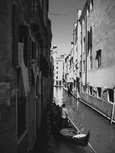 Canal Shade, Venice Italy - Travel wall art prints by Edwin Datoc Gallery