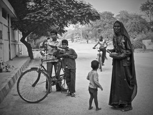 Mother and Children, Delhi India - Travel wall art prints by Edwin Datoc Gallery