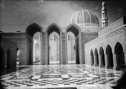 Sultan Qaboos Grand Mosque, Muscat Oman - Travel wall art prints by Edwin Datoc Gallery