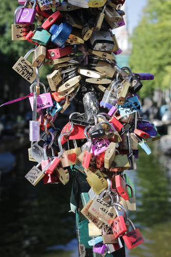 Love Locks, Amsterdam Netherlands - Travel wall art prints by Edwin Datoc Gallery