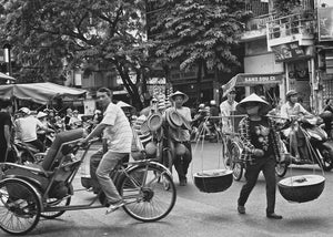Rush Hour, Hanoi Vietnam - Travel wall art prints by Edwin Datoc Gallery