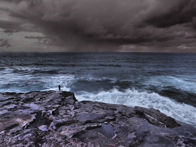 Storm Catch, Tamarama Point, Sydney Australia - Travel wall art prints by Edwin Datoc Gallery