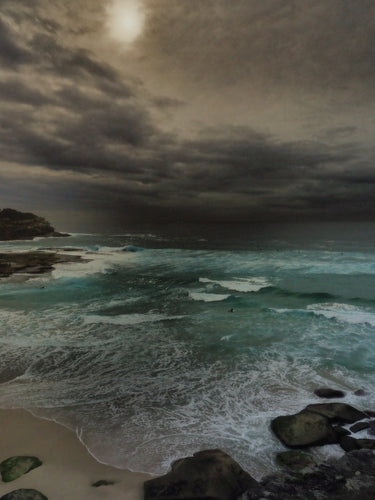 Tide Glow, Tamarama Beach, Sydney Australia - Travel wall art prints by Edwin Datoc Gallery