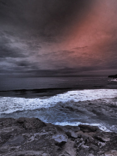 Twilight Storm, Bronte Beach, Sydney Australia - Travel wall art prints by Edwin Datoc Gallery