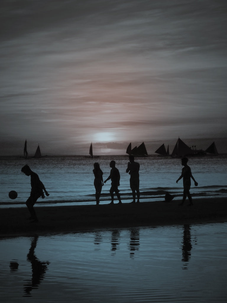 First light Fun, Boracay Island Philippines - Travel wall art prints by Edwin Datoc Gallery