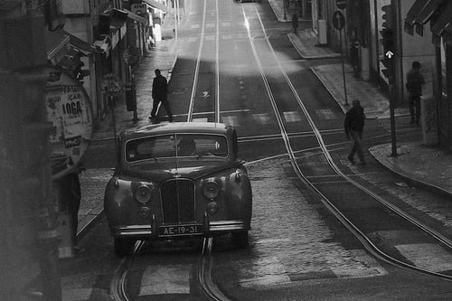 Morning Pickup, Lisbon Portugal - Travel wall art prints by Edwin Datoc Gallery