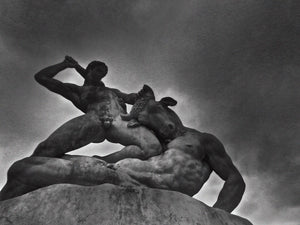 Hercules And Minotaur statue, Tuileries Gardens, Paris France - Travel wall art prints by Edwin Datoc Gallery