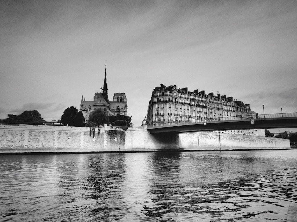 Pont Saint Louis, Paris France - Travel wall art prints by Edwin Datoc Gallery