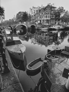 Prinsengracht Canal, Amsterdam Netherlands - Travel wall art prints by Edwin Datoc Gallery