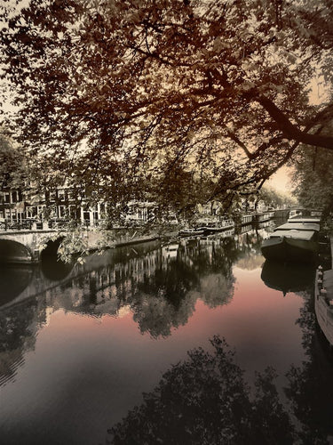 Sunset Shades, Amsterdam Netherlands - Travel wall art prints by Edwin Datoc Gallery