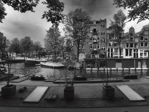 Prinsengracht (Prince's Canal), Amsterdam, Nerherlands - Travel wall art prints by Edwin Datoc Gallery