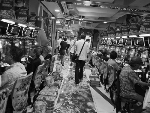 Pachinko Parlor, Tokyo Japan - Travel wall art prints by Edwin Datoc Gallery