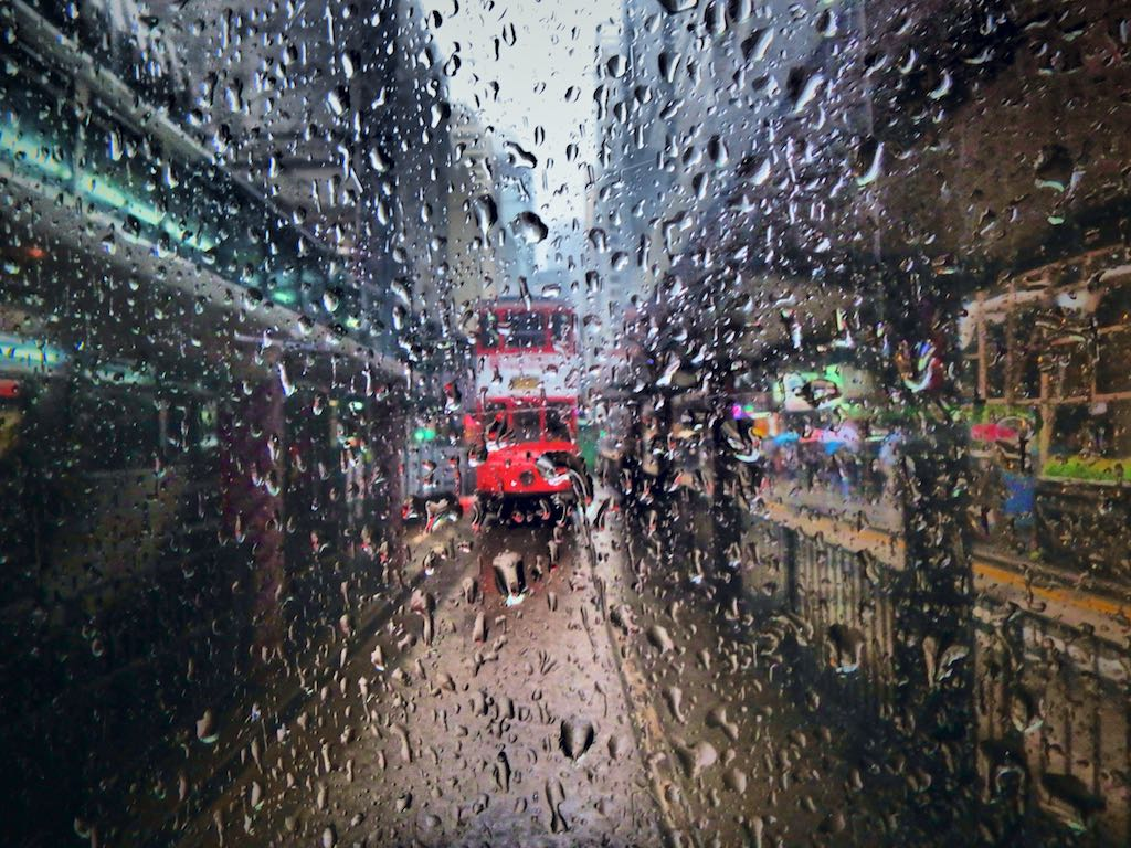 Tram Splash, Hong Kong - Travel wall art prints by Edwin Datoc Gallery
