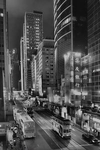 Des Voeux Road, Central Hong Kong - Travel wall art prints by Edwin Datoc Gallery