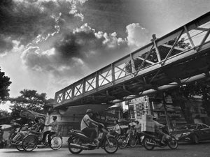 Under The Bridge, Hanoi Vietnam - Travel wall art prints by Edwin Datoc Gallery
