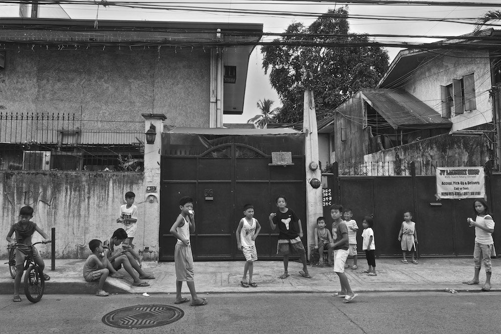 Street Children, Manila Philippines - Travel wall art prints by Edwin Datoc Gallery