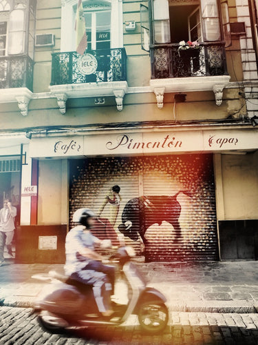 Morning Cruise, Seville Spain - Travel wall art prints by Edwin Datoc Gallery
