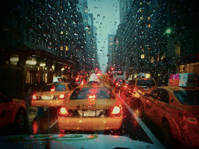 Rain at Lexington Ave, Manhattan, New York City USA - Travel wall art prints by Edwin Datoc Gallery