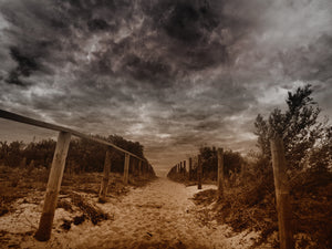 Entrance at Long Reef Beach, Sydney, Australia - Travel wall art prints by Edwin Datoc Gallery