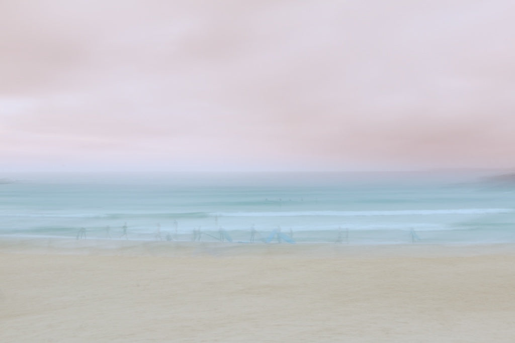 Pink Dawn, Bondi Beach, Sydney Australia - Travel wall art prints by Edwin Datoc Gallery