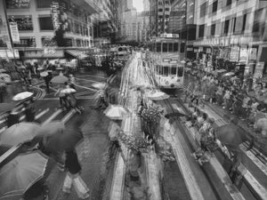 Wan Chai Rush Hour, Hong Kong - Travel wall art prints by Edwin Datoc Gallery