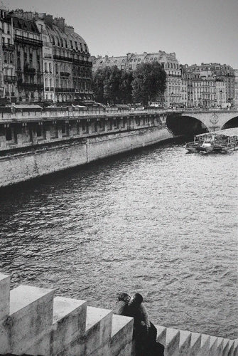 Lovers at Pont Neuf, Paris France - Travel wall art prints by Edwin Datoc Gallery