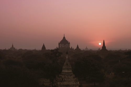 Temple of Dawn, Bagan, Myanmar - Travel wall art prints by Edwin Datoc Gallery