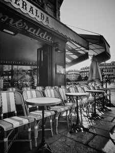 Cafe Esmeralda, Notre Dame, Paris France - Travel wall art prints by Edwin Datoc Gallery