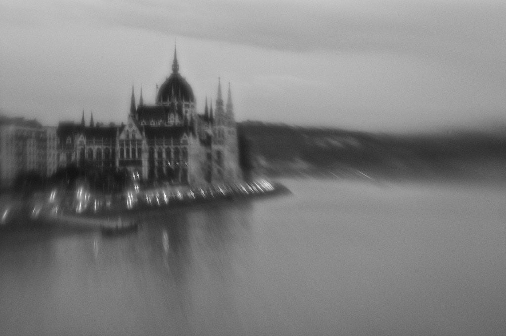View of Parliament at Sunset, Budapest Hungary - Travel wall art prints by Edwin Datoc Gallery