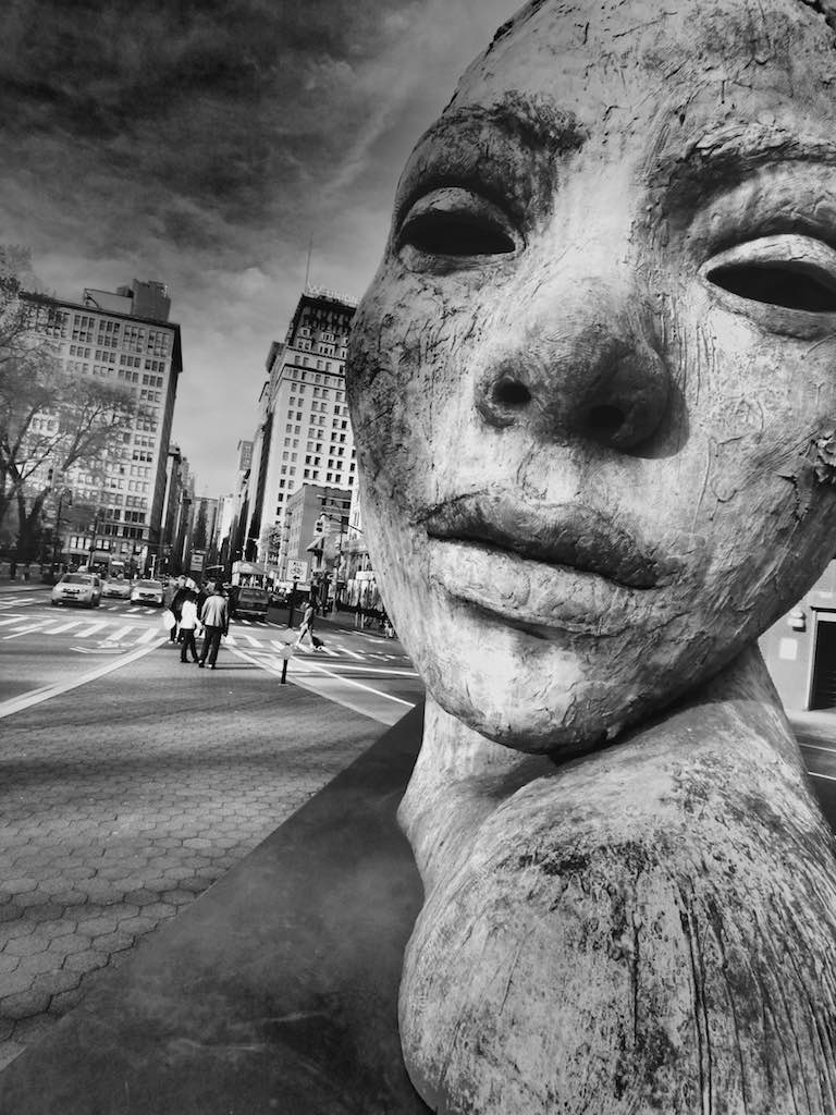 Two Faced Goddess, Union Square, New York City USA - Travel wall art prints by Edwin Datoc Gallery