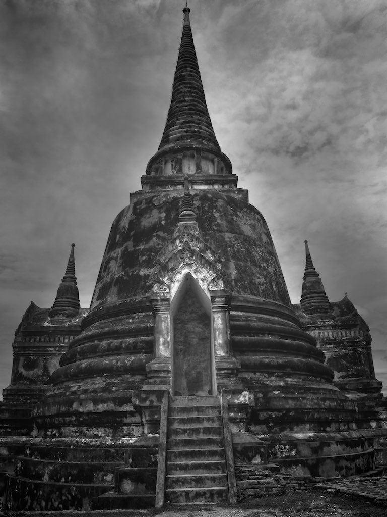 Wat Phra Si Sanphit Temple 1/2, Ayutthaya Thailand - Travel wall art prints by Edwin Datoc Gallery