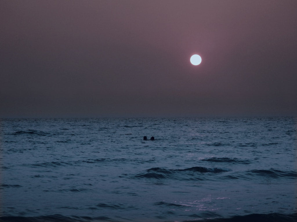 Moonlight Swim, Koh Chang Beach , Thailand - Travel wall art prints by Edwin Datoc Gallery
