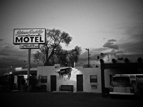 Silver Saddle Motel, Santa Fe New Mexico, USA - Travel wall art prints by Edwin Datoc Gallery