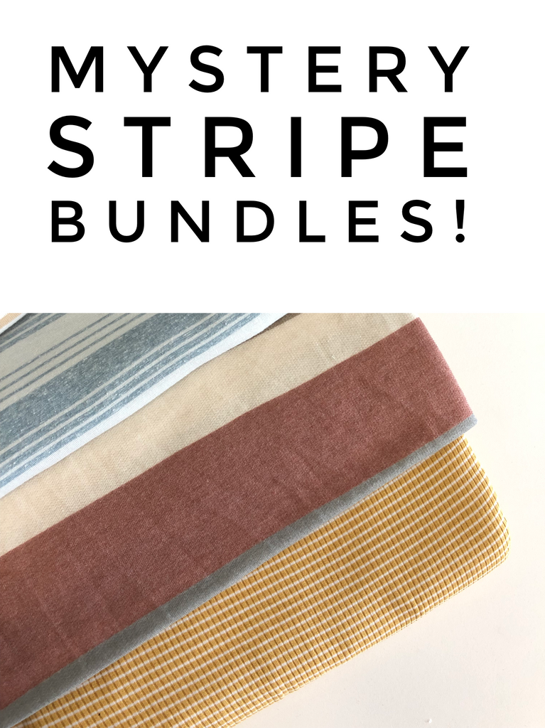 Mystery stripe bundle sale 8 yards total