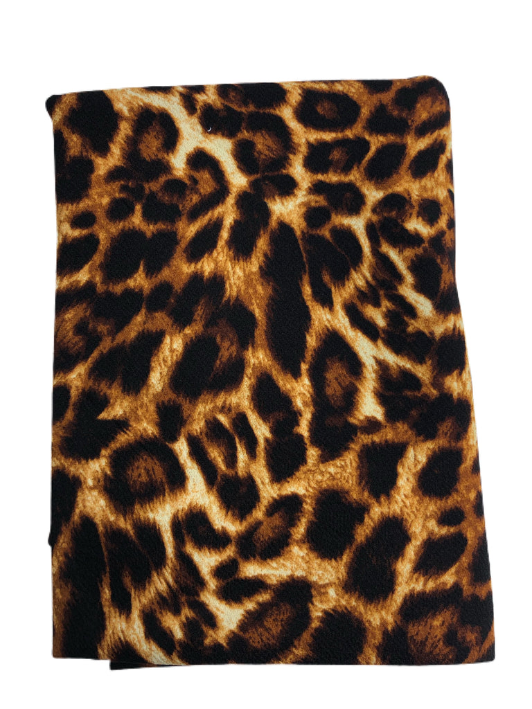 Cheetah liverpool knit with great drape