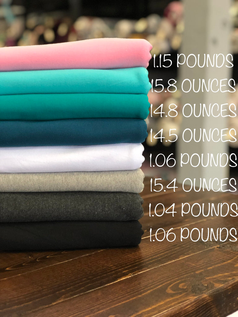 Ridiculously heavy weight cotton Lycra knits