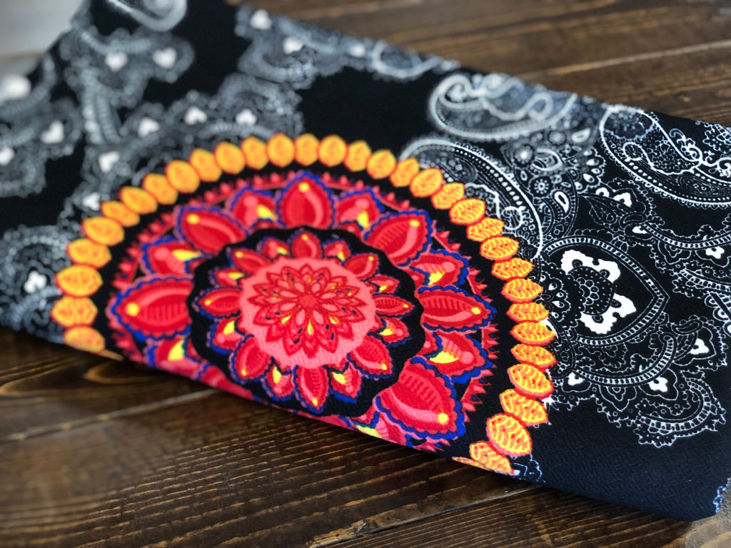 Paisley punch Liverpool knit